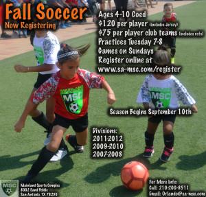 Audrey Ad Fall Soccer website