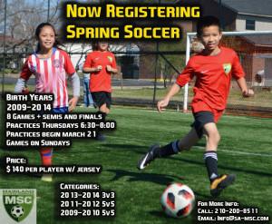 Spring Soccer Ad 2019